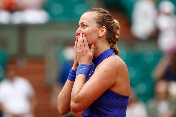Petra Kvitova nella foto