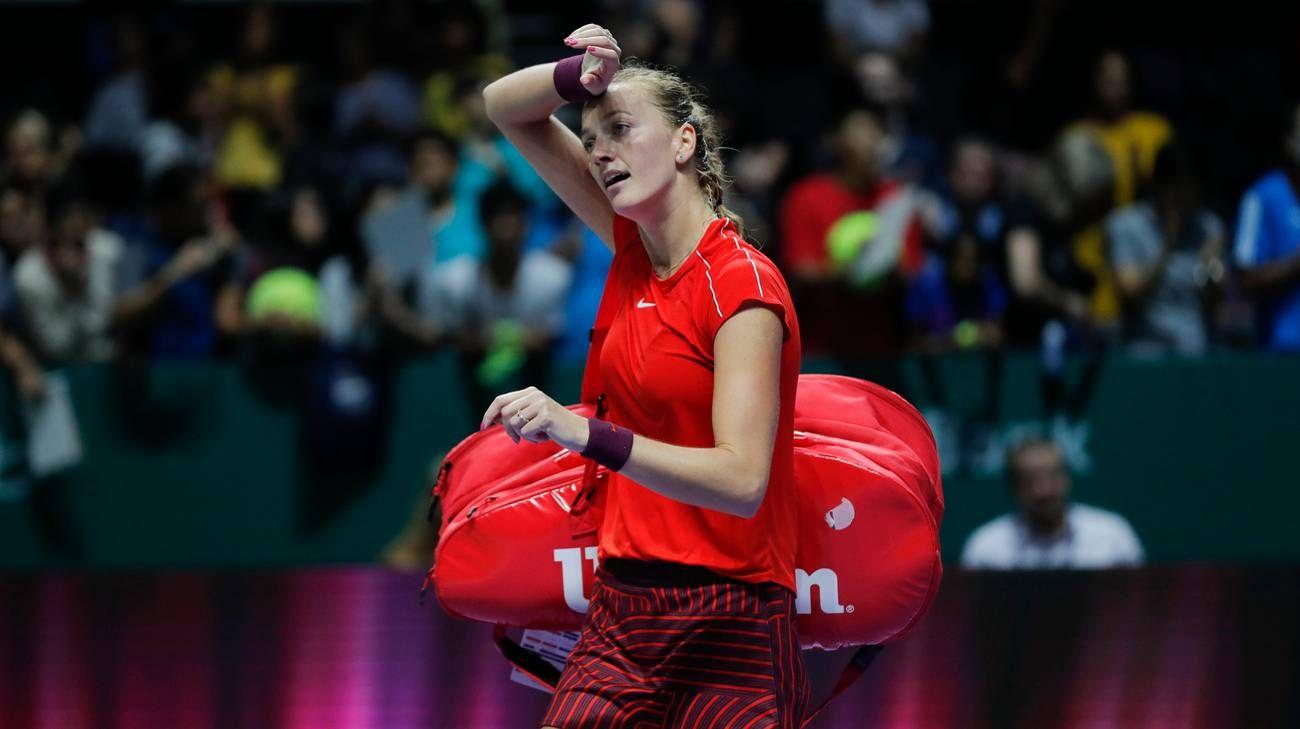 Finale Fed Cup, forfait Kvitova per il primo singolare