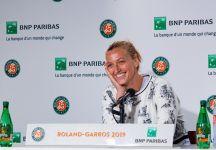 Roland Garros: Petra Kvitova si ferma. Forfait per un problema al braccio sinistro
