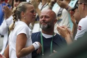 Petra Kvitova si separa dal suo storico coach