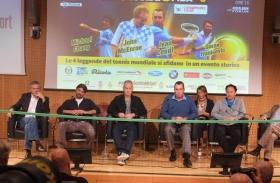 I quattro protagonisti durante la conferenza.- (credit Jacopo Barsotti)
