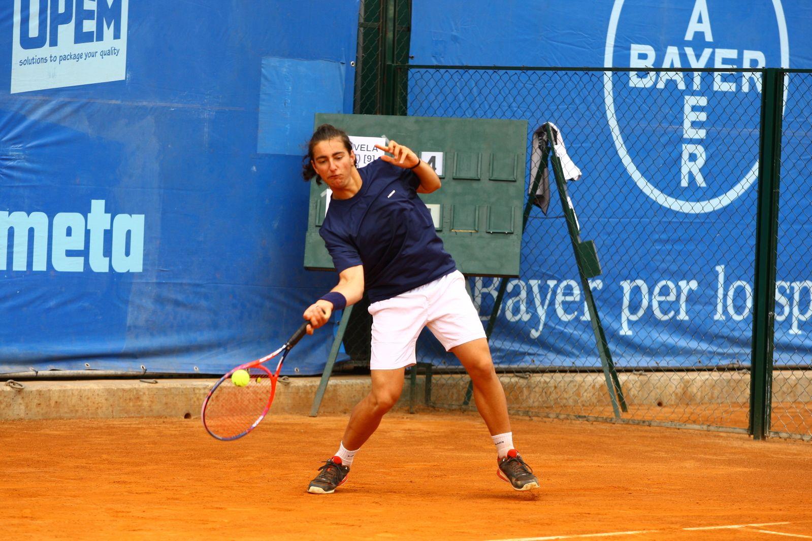 Giuseppe La Vela, classe 2000 e n.312 ITF