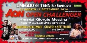 Non solo grande tennis, anche quest'anno l'<strong>AON Open Challenger Memorial Giorgio Messina</strong>,