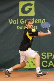Philip Lageder 24 anni, senza ranking ATP - Foto Alex Runggaldier