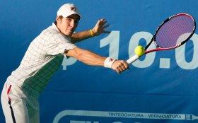 Dusan Lajovic, classe 1990, n. 369 del ranking mondiale. Foto Gabriele Villa