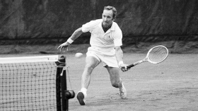Rod Laver ultimo giocatore ad aver conquistato i quattro titoli nello Slam nello stesso anno
