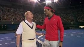 Rod Laver e Roger Federer