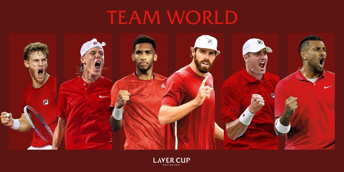 Laver Cup, il team world