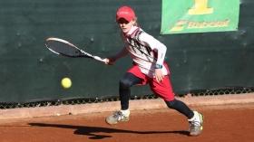 Giorgio Tabacco, Circolo Tennis e Vela di Messina, testa di serie n.1 dell'under 12 - (foto Mosquitos)