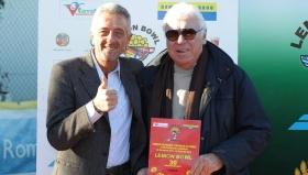 Il direttore del Lemon Bowl Paolo Verna con Nicola Pietrangeli