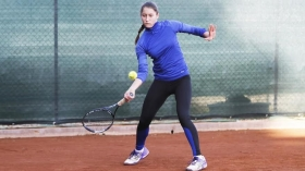 Linda Alessi, under 14 del Tennis Training di Foligno - (foto Mosquitos).