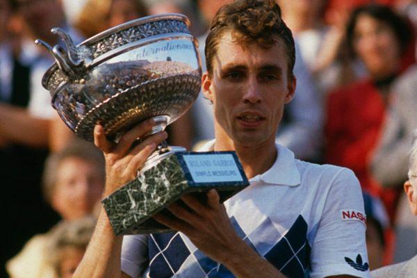 Ivan Lendl nella foto