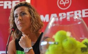 Gala Leon Capitano di Coppa Davis della Spagna