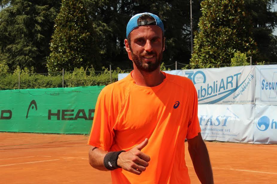 Filippo Leonardi nella foto