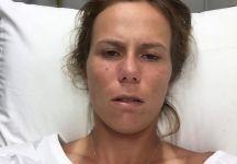 Varvara Lepchenko non ascolta i medici e finisce in Ospedale