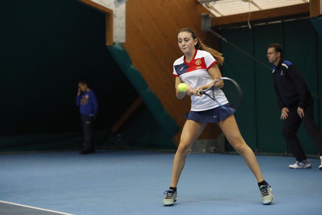 La giovane Eleonora Leva domenica ha fatto il suo esordio in Serie A1 contro lo Sporting Stampa Torino
