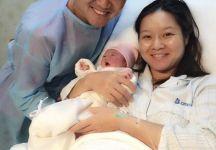 Na Li è diventata mamma. Questa notte è nata Alisa