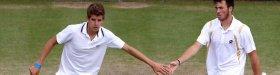 Pietro Licciardi e Matteo Donati in finale nel doppio a Wimbledon Junior
