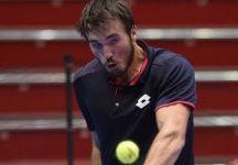 Challenger Andria: Pietro Licciardi dura un solo set contro Nikoloz Basilashvili