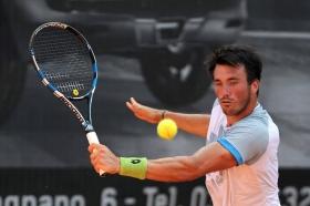 Pietro Licciardi, 21 anni da Ravenna, è l'unico italiano in semifinale al Trofeo FBA Ad Valorem - (foto Francesco Panunzio).