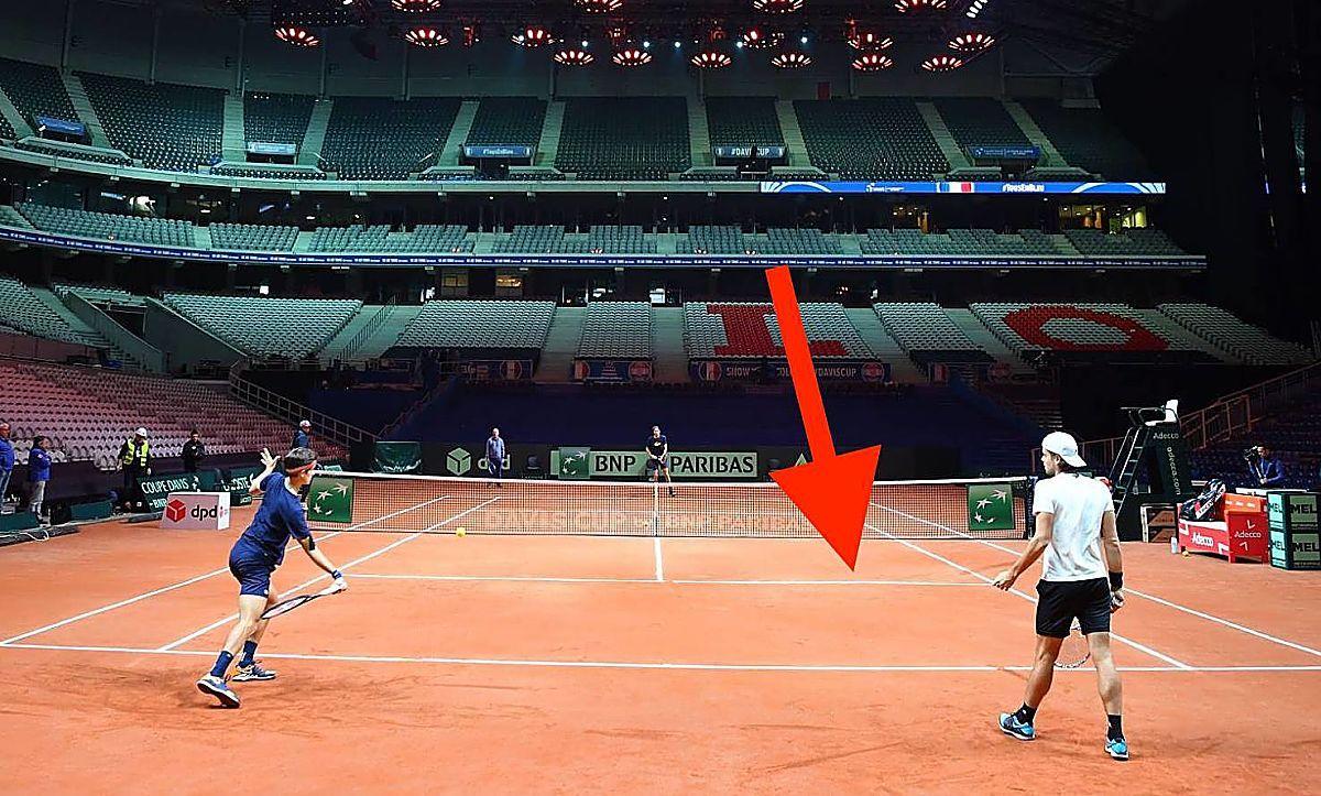 Davis Cup: Le difficoltà dell'impianto di Lille
