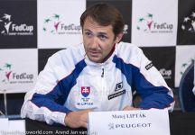 """Fed Cup: Matej Liptak sul forfait della Vinci """"E' sicuramente una sorpresa, ma siamo ancora sfavoriti nella sfida con l'Italia anche senza la numero 1"""""""