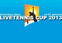 LiveTennis Cup 2013 – Australian Open: Si conclude la prima tappa. Successo finale di da.ferretti93! Nell'ultima giornata vince Edozoo. Si ricomincia ad Indian Wells!