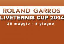 LiveTennis Cup 2014 – Roland Garros: Classifiche finali. Sospiridalmare conquista la classifica generale, IlDivinoOtelma l'ultima giornata. Arrivederci a Wimbledon!
