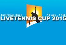 LiveTennis Cup 2015 – Australian Open: Classifiche finali. Successo di Pantera96, Guylasgrosce conquista l'ultima giornata