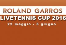 LiveTennis Cup 2016 – Roland Garros: Classifiche finali. Trionfo di Andrea 89, Er Basetta si prende l'ultima giornata. Il gioco riprenderà a Wimbledon!
