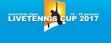 LiveTennis Cup 2017 – Aus Open: Si pronostica per le partite della terza giornata (fino a mercoledì all'una di notte)!