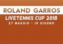 LiveTennis Cup 2018 – Roland Garros: Classifiche finali. Kingroger81 conquista Parigi, piet64 l'ultima tappa. Si torna a giocare a Wimbledon!