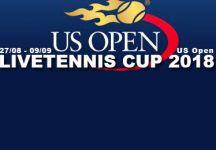 LiveTennis Cup 2018 – Us Open: Pronostici sesta giornata (chiusura sabato ore 18). Classifica quinta giornata!