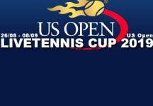 LiveTennis Cup 2019 – Us Open: Pronostici della settima giornata (chiusura domenica ore 17). Classifica sesta giornata!