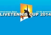 LiveTennis Cup 2014 – Australian Open: Classifiche finali. L'utente El Mingo conquista la classifica generale, Savy vince l'ultima giornata. Il prossimo appuntamento è Indian Wells!