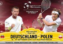 Davis Cup: Philipp Kohlschreiber dà forfait