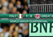 Coppa Davis – Quarti di Finale:  Live Italia vs Gran Bretagna. Livescore dettagliato.  Seppi vs A. Murray rimandato a domani alle ore 10-30