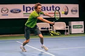 Niels Lootsma, olandese classe 1994, ha superato per 7-6 6-7 6-3 il francese Hoang (foto Panunzio)