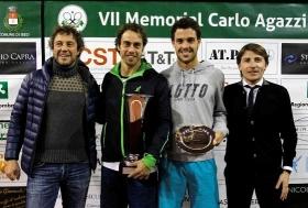 Paolo Lorenzi, senese classe 1981, ha vinto la settima edizione del Memorial Carlo Agazzi a Iseo (Brescia
