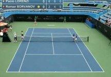 Video del Giorno: La semifinale di Paolo Lorenzi a Guadalajara (compresi i tre ace consecutivi nell'ultimo game dell'incontro)