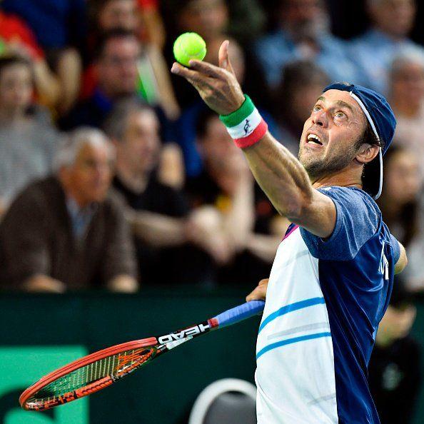 Tennis, esordio amaro per Fognini a Montecarlo