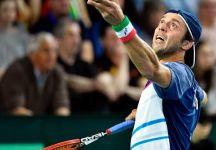 Davis Cup: Belgio vs Italia 1-0. Paolo Lorenzi illude per un set. Darcis poi domina per due set e vince il quarto al tiebreak