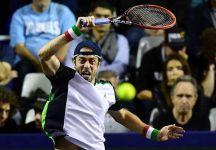 Paolo Lorenzi eliminato al primo turno del Masters 1000 di Parigi Bercy. Passa il portoghese Joao Sousa in due set