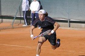 Paolo Lorenzi impegnato al Masters 1000 di Roma