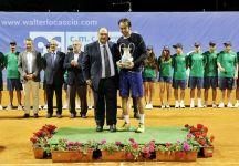 """Il successo di Paolo Lorenzi a Caltanissetta: """"Oggi ho messo in mostra un ottimo tennis,  ma forse Matteo ha giocato ancora meglio di me. Gli faccio i complimenti e sono certo che farà parte a lungo del team di Davis"""""""