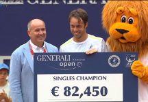 Le parole di Paolo Lorenzi dopo Il primo successo in carriera nel circuito maggiore ed il video completo della finale di Kitzbuhel