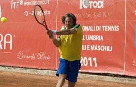Paolo Lorenzi classe 1981, best ranking  n.83 del mondo.