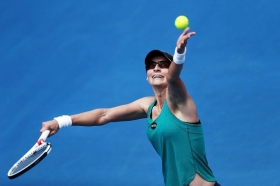 Mirjana Lucic Baroni senza sponsor ai quarti di finale agli Australian Open
