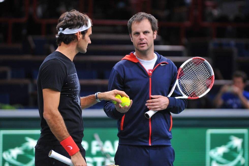 Severin Luthi miglior allenatore svizzero del 2017. Le congratulazioni dell'amico Roger Federer