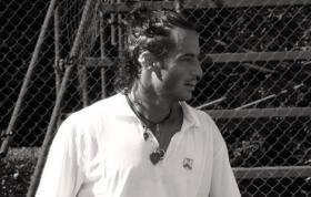Federico Luzzi classe 1980, best ranking n.92 del mondo - Foto Alessandro Nizegorodcew